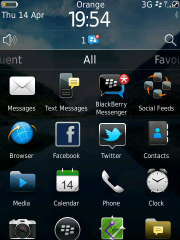 Torch 9800 Themes With 6.1 Icons