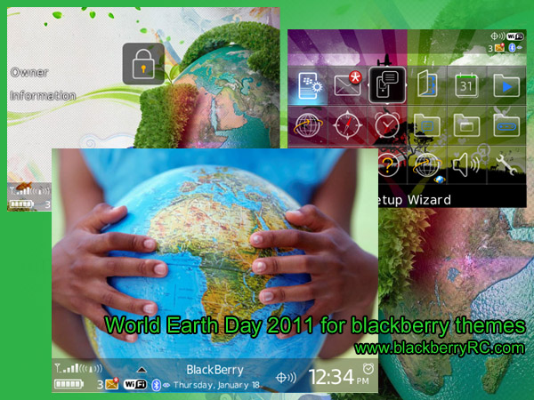 World Earth Day 2011 for 89xx themes