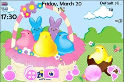 Easter Peeps for bold 9000 themes