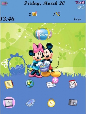<b>Disney Easter for 9500 storm themes</b>