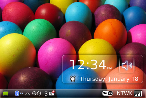 Happy Easter Day 2011 for 9000 os4.6 themes