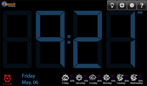 <b>Talk Clock v1.3.8.101 for BlackBerry PlayBook</b>