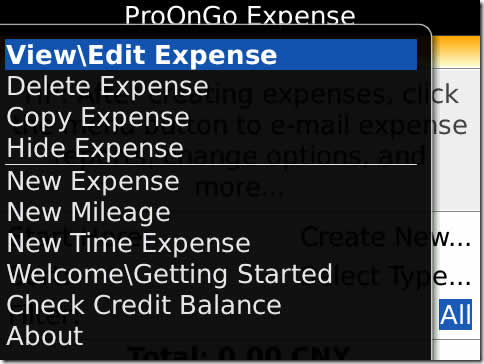 ProOnGo Expense with Receipt Reader (OS 4.5)