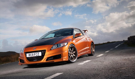 Honda CR Z Mugen 2012 for 1024x600 wallpapers