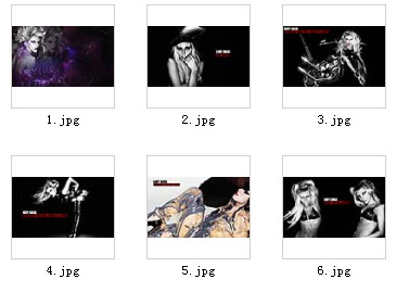 Lady GaGa 《Born This Way》 1024x600 wallpapers