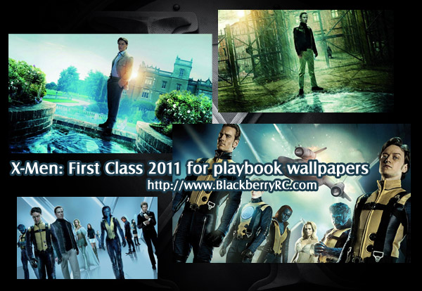 X-Men: First Class 2011 for playbook wallpapers