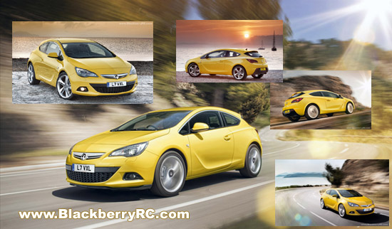 Vauxhall Astra GTC 2012 for playbook wallpapers