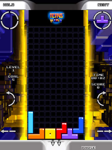 Tetris Mania for blackberry 95xx games