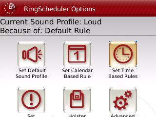 RingScheduler v1.0.28 applications for blackberry