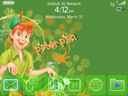 Peter Pan for bold 9700 Themes