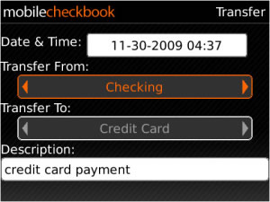 Mobile Checkbook v4.0.4.1