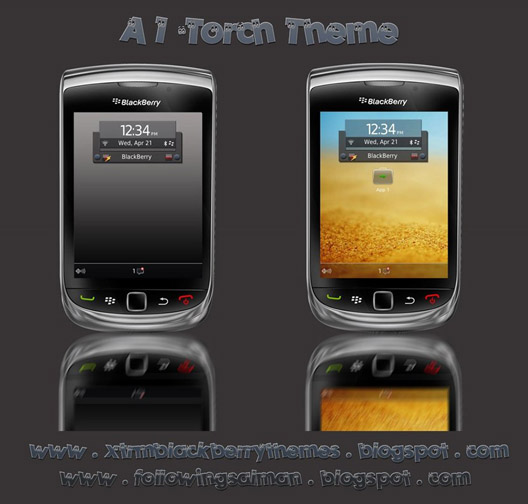 A1 Theme for Torch 9800 os6.0