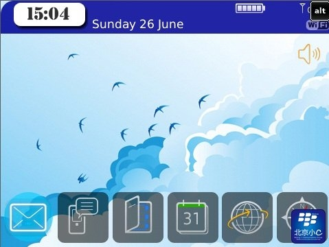 Courage for blackberry 90xx themes os5.0