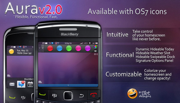 Aura v2.0 for 96xx/9700/9780 OS6.0 themes