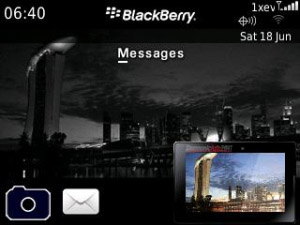 BlackBerry at Communicasia 2011 for os6.0 themes