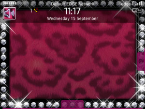 Pink Leopard Print Photo Frame Theme
