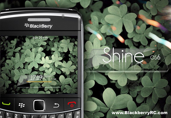 Shine for BB 9650、9700、9780 themes