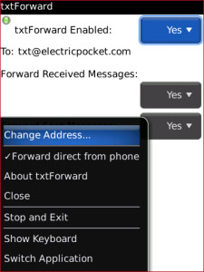 txtForward - SMS Backup to Email v1.2.3.1