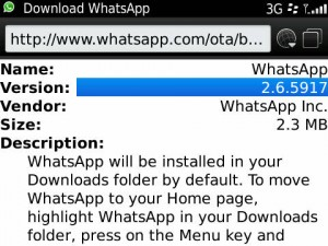 <b>WhatsApp Messenger v2.6.5917</b>