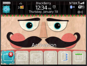 Nutcracker themes for blackberry 85xx,93xx model