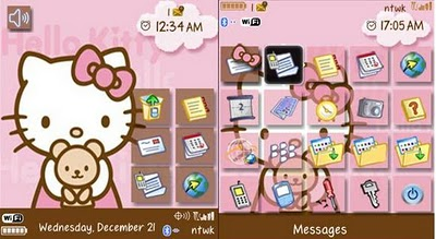 Hello Kitty Pink & Brown 89xx,96xx,9700 Themes