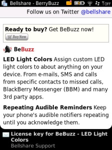 BeBuzz v4.0.82 Free - LED Light Colors(os4.2.1 -