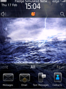 Animated Sea OS6 Theme for Storm model