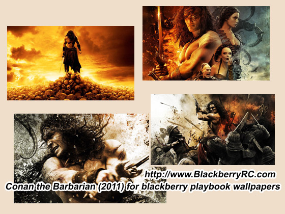 <b>Conan the Barbarian (2011) for blackberry playboo</b>
