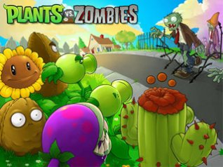 plants vs zombies for 9780,9800,9900 hd wallpaper