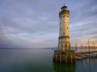 Lindau Lighthouse 360x480 wallpapers