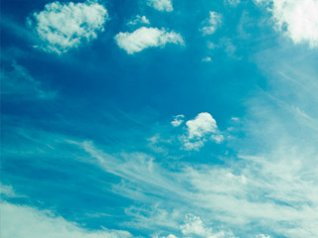 Blue Sky for blackberry 9900 wallpapers