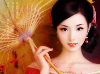 Kimono Beauty - blackberry 9900 wallpapers