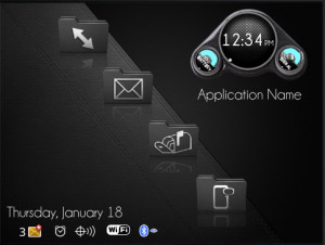 Carbon Fiber Theme for BB