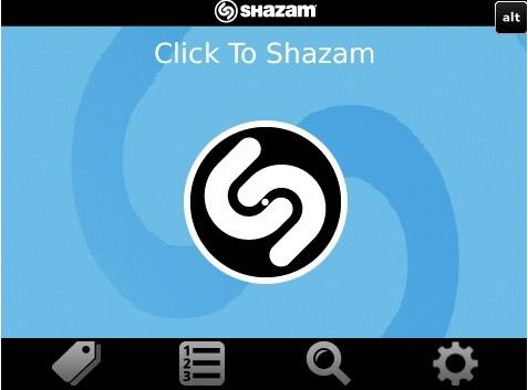 free Shazam v2.7 apps for blackberry os6.0+