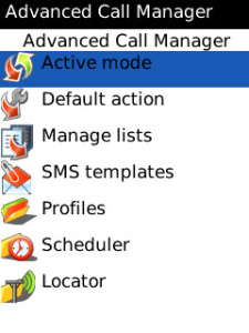 Free Advanced Call Manager v2.71 applications