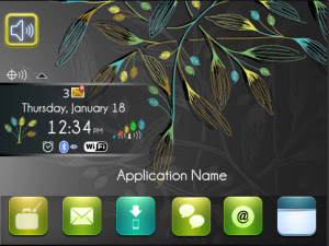 Exquisite Theme for blackberry os4.6+