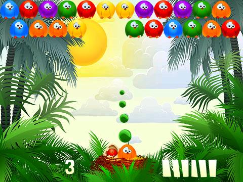 <b>Bubble Birds v1.6.0 for BB 8900,9630,9788 games</b>