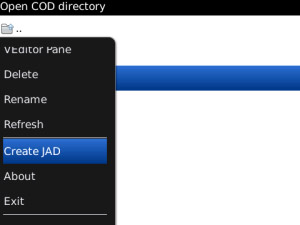 Jad Anywhere v1.1 for blackberry 4.6 - 7.0 apps