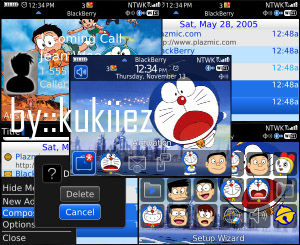 Doraemon themes for 8520,9300 os5.0 download