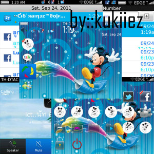 free Mickey Mouse for 9700,9780 os6.0 themes