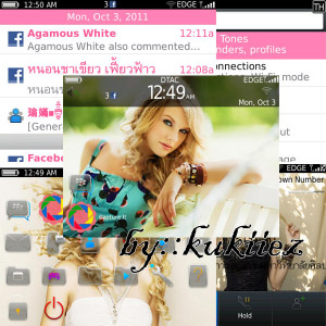 Taylor swift os7 theme for bb 9700 9780 os6.0