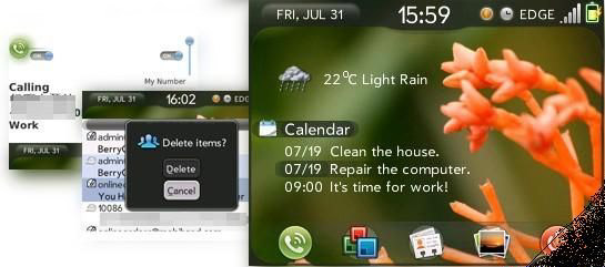 Palm PRE 2 themes for blackberry 83xx,87xx,88xx o