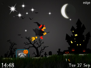 <b>Flying Witch v1.0 - Halloween ( Animated Themes )</b>
