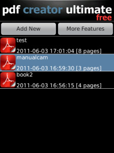 Free PDF Creator Ultimate v2.1.0 for os5.0 apps