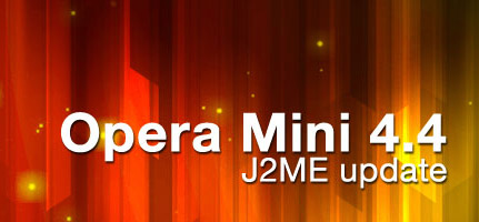 Opera Mini v4.4.26736 apps for blackberry
