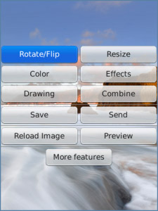 FREE Photo Editor Ultimate v6.8.5 for blackberry