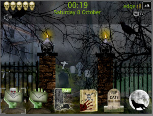 Creepy Halloween v1.0.1031 blackberry themes