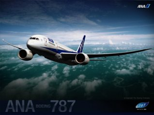 ANA BOEING 787 - 320x240 pictures