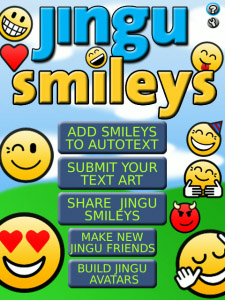 Jingu Smileys v1.4.1 for blackberry apps
