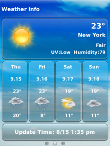 <b>Weather Plus 3.1.0 for blackberry os4.5-4.6 apps</b>